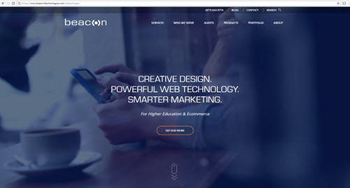 New Beacon Home Page