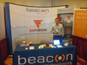 beacon stand at convention