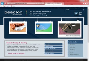 beacon website graphic
