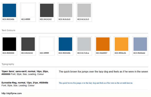 Style Guides For Web Design And Development