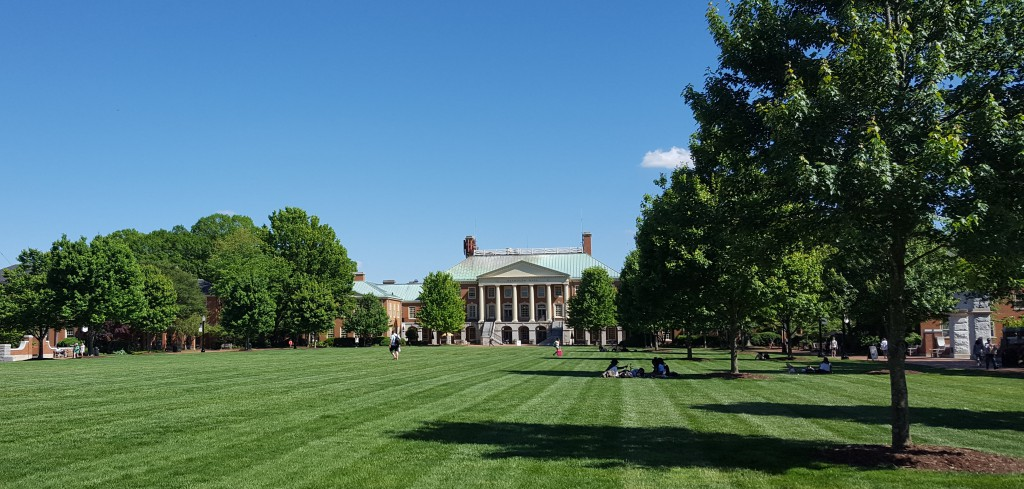 Quad at Wake Forest Univ